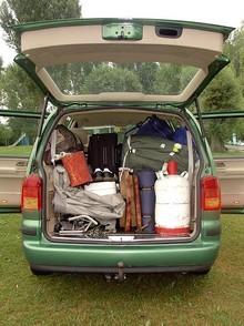 Gasflaschen im Auto transportieren