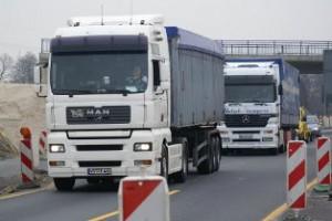 Lasersensoren sollen Lkw-Fahrern bald helfen, besser durch Autobahnbaustellen zu kommen (Foto: fernfahrer.de)