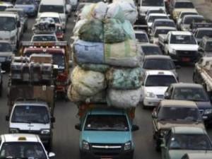 """""""Ladungssicherung"""" in Kairo – eines von mehreren BILD-Beispielen"""