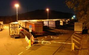 Stätte des Modellprojekts: der Lkw-Parkplatz in Montabaur an der A 3 (Foto: trucker.de)