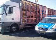 """Polizeipräsenz auf dem SVG – Autohof in Kirchheim – Aktionstag """"LaSi"""""""