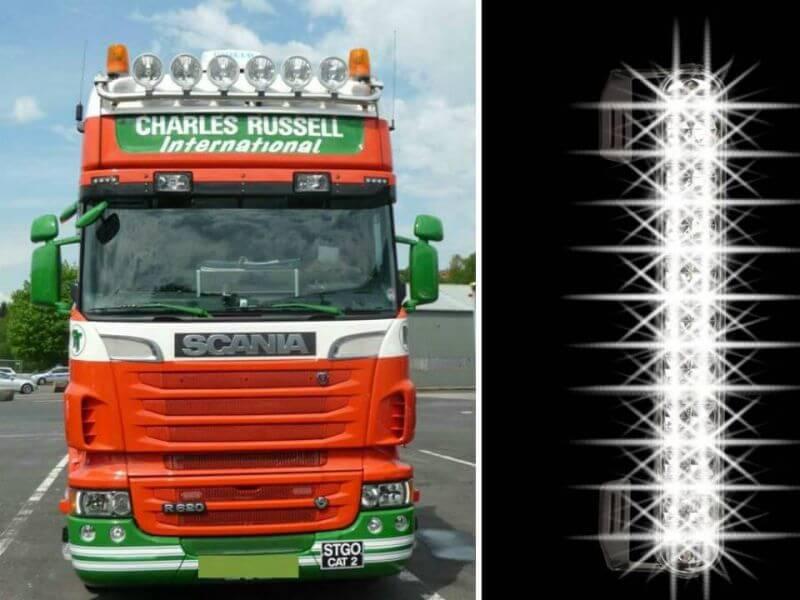 Truck beleuchtung for Badezimmermobel 3 teilig