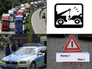 Pannenfahrzeuge auf der BAB – Gefahr droht !