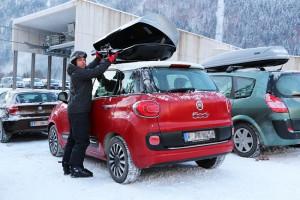 Sicher verstaut sind Skier in einer Dachbox – jedoch nur, wenn man einige Tipps beachtet. Foto: ARCD