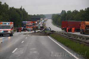 Üble Folgen eines Unfalls (Foto: Archiv)