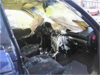 © www.marax.at; Mangelnde Ladungssicherung von Baustoffen - Fahrzeug mit Totalschaden war hier die Folge