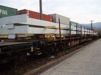 Transport auf Ladegestell