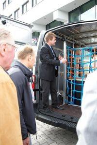 Am ersten 3G-Logistiktag dreht sich alles um die Ladungssicherung in Kleintransportern