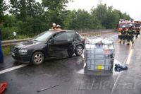 Bei einem Verkehrsunfall sollten sie Ruhe bewahren und einige Punkte beachten