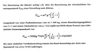Berechnungsformel
