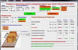 Individuelle Berechnung der Ladungssicherung