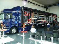 Der Lasi-Info-Trailer ist fester Bestandteil der Ladungssicherungs-Schulungen des 3G Kompetenzzentrum Ladungssicherung in Fulda