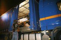 Ladungsdiebstähle aus Lkws nehmen deutschlandweit zu (Foto: trans aktuell)