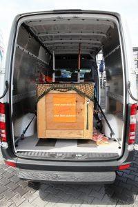 Ladungssicherungs-Systeme für Kleintransporter