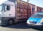 """Polizeipräsenz auf dem SVG - Autohof in Kirchheim - Aktionstag """"LaSi"""""""