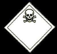 Ätzendes, giftiges Pestizid hatte ein Sattelzug geladen, dessen Ladung bei einer Vollbremsung verrutscht ist