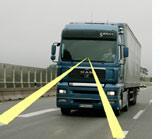 Weniger Lkw-Unfälle durch Fahrer-Assistenz-Systeme (Archivbild des Laisiportal.de)