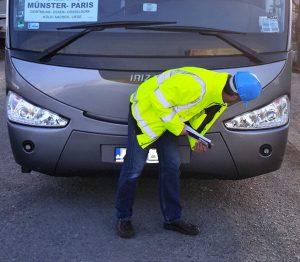 Prüfungen am Fahrzeug