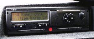 Fahrtenschreiber-Kontrolle