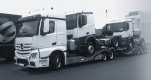 Genehmigung und Beförderung von Nutzfahrzeugen auf Transportfahrzeugen