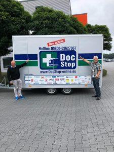 Schnelle ärztliche Hilfe DocStop-Hotline 00800 - 0362 78 67